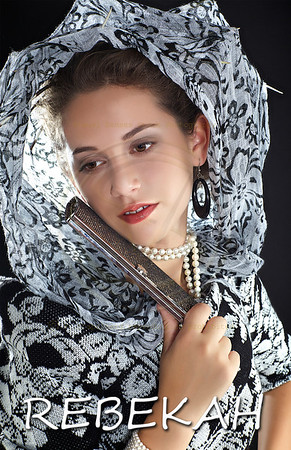 Model Rebekah Comp Card Vancouver Canade