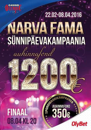 Narva Fama sünnipäev, 2016