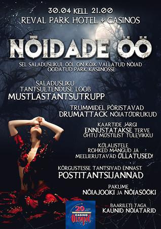 OC Volbriöö pidu 2013, plakat