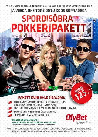 Pokkeripakett, 2014