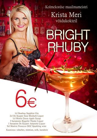 Krista Meri kokteil Bright Rhuby, 2014