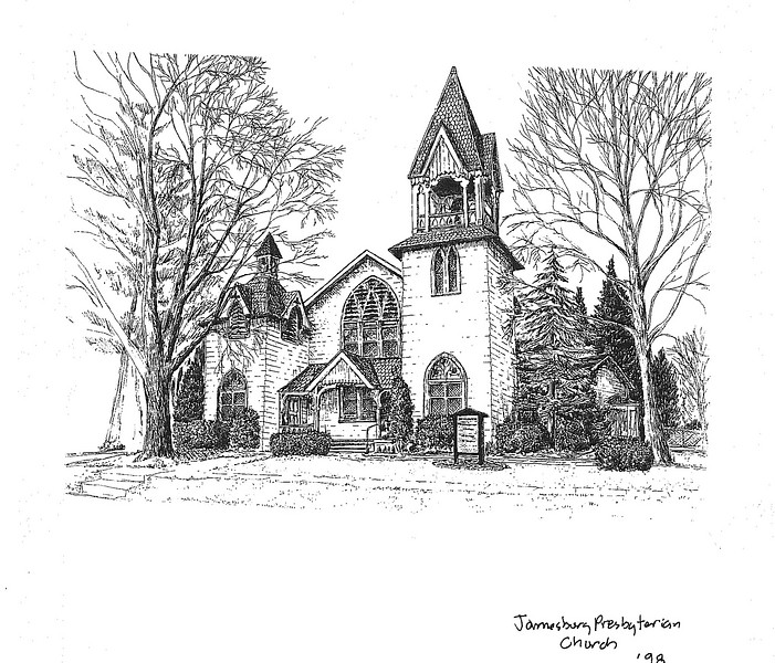 1840's Jamesburg Presbyterian Church