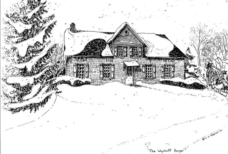 Early 1700's Van Wyck House, Franklin , NJ