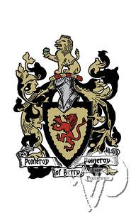 POMEROY FAMILY ~ COAT OF ARMS