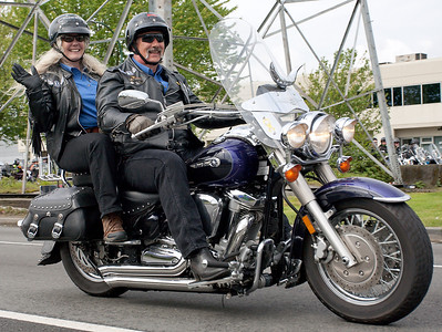 Peter & Colleen Groenland, Founders WESTCOAST Motorcycle Ride To Live