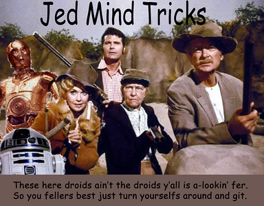 Humor piece combining Star Wars droids with The Beverly Hillbillies.