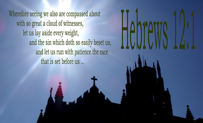 THIS ONE IS FOR SALE! So Great a Cloud of Witnesses. Hebrews 17:1.