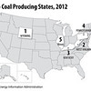 TopCoalProducingStates2012
