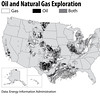 oil and nat gas exploration USGS color
