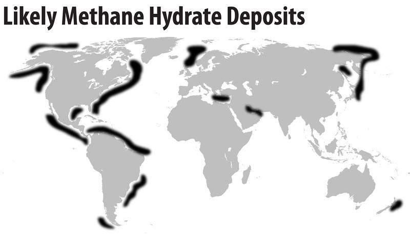 methane hydrates