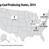 TopCoalProducingStates2014