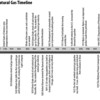 Timeline Petroleum and Natural Gas