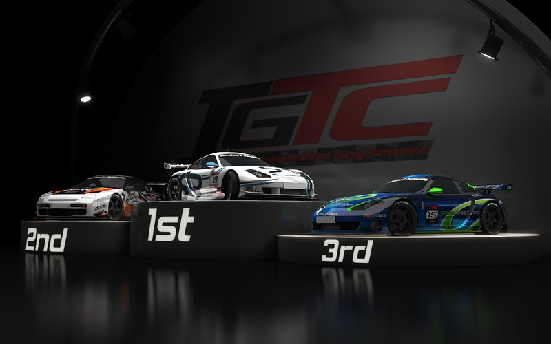 IGTC season 2 (2008) podium shot.