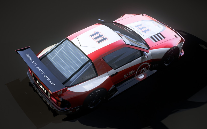 One of the first true renderings after I had worked with all LFS cars in XSI. This render reveals a minor texturing error - see if you can spot it.
