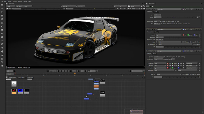 """RMS SR2012 Timelapse (Grading)<br /> <br /> A reqest by Sonicrealms Racing to render the entire set of LFS cars, to showcase their 2012 skins.<br /> <br /> 50mins spent.<br /> <br /> Final result: <a href=""""http://smu.gs/PpLBuP"""">http://smu.gs/PpLBuP</a>"""