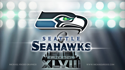 Promo Graphic created for Superbowl 2013.