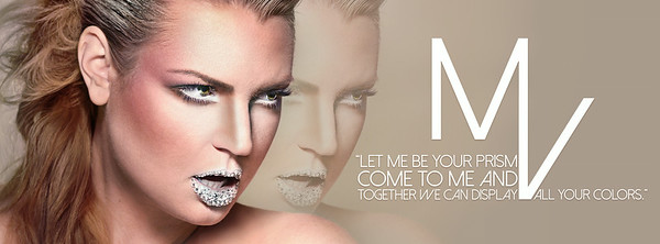 Makeup, Photography, and Graphics created for promo banner.