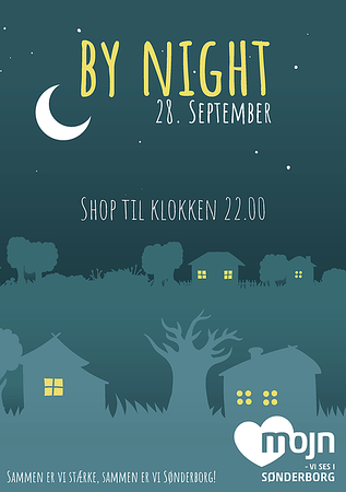 Poster for the By Night event