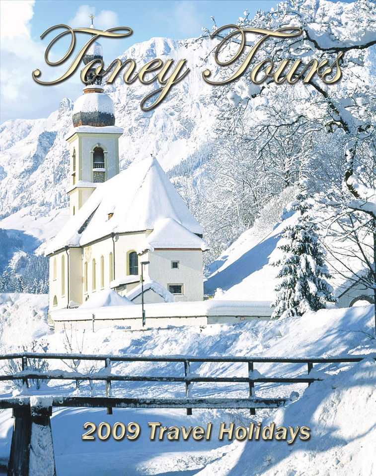 Toney Tours Catalog 2009