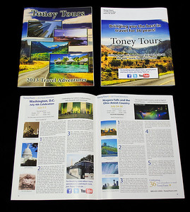 Toney Tours Printed Catalog 2013