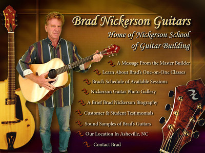 Brad Nickerson website - 2005 - Much greenscreen photography