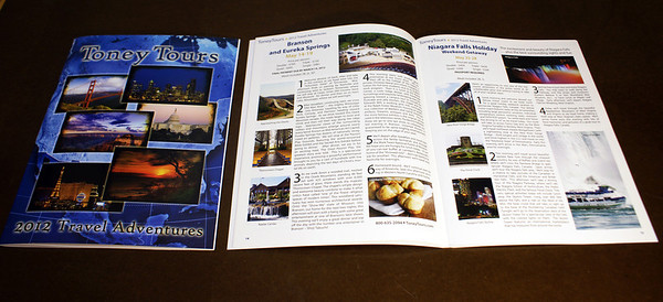 Printed Version Toney Tours 2012 Catalog
