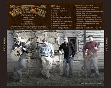 Whiteacre Band CD Cover