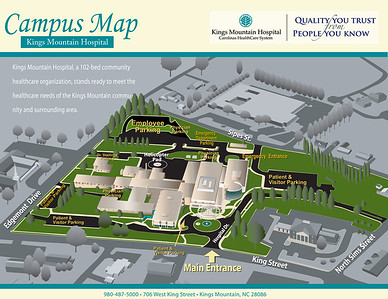 KMH Campus Map Side Final - Revised January 2011