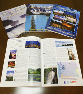 Various Toney Tours Catalogs