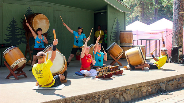 Grass Valley Taiko at NC Fair 2017