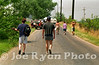 Walking to the Deer Creek Music Center, only to be turned away moments later by the police.<br /> Noblesville, IN<br /> July 3, 1995