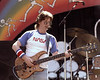 Phil Lesh performing with the Grateful Dead at the Greek Theater in Berkeley, CA on July 15, 1984.