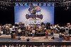 The Grateful Dead performing at the Greek Theater in Berkleley, CA on June 15, 1985.
