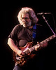 Jerry Garcia performing at the Warfield Theater in San Francisco on January 31, 1991.