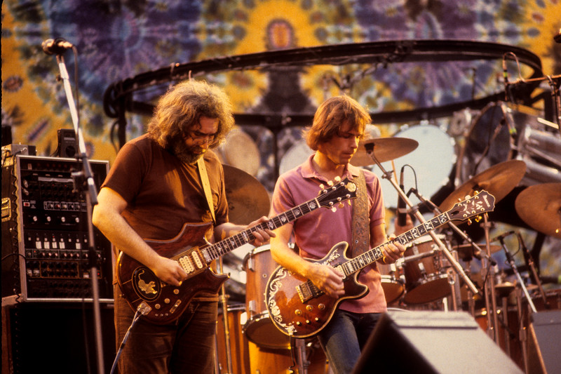 The Grateful Dead play the Greek Theater in Berkeley, CA on 9-13-81.