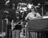 Jerry Garcia and Phil Lesh performing with the Grateful Dead at Spartan Stadium in San Jose on April 22, 1979.