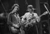 Bob Weir and Phil Lesh perfoming with the Grateful Dead at Kaiser Auditorium in Oakland on December 30, 1979.