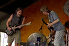 Bob Weir and Phil Lesh performing with Phil & Friends at the New Orleans Jazz & Heritage Festival on May 5, 2002.