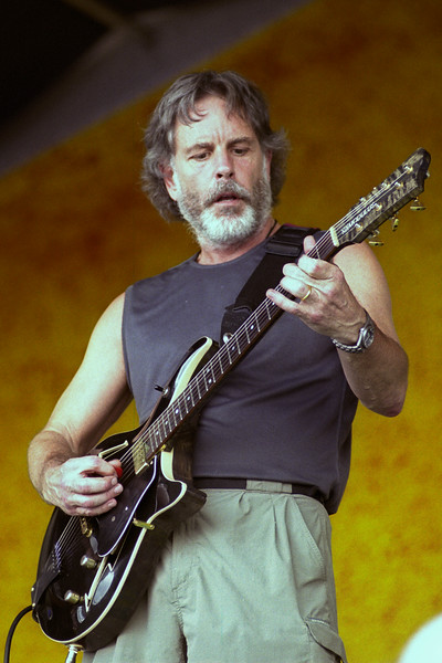 Bob Weir performing with Phil & Friends at the New Orleans Jazz & Heritage Festival on May 5, 2005.