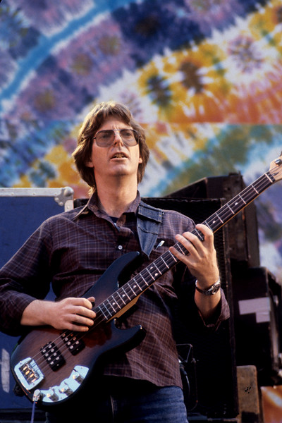 Phil Lesh performs with the Grateful Dead at the Greek Theater in Berkeley on May 22, 1982.