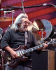 Jerry Garcia performs with the Grateful Dead at the Greek theater in Berkeley, CA on August 17, 1989.
