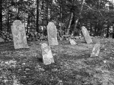 Family plot, Ye Olde Cemetery, Danville NH Nov 2009