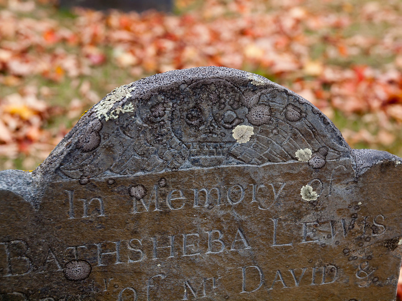 Die Young<br /> 4-year old Bathsheba buried Old Francestown Cemetery, and yes this is another Black Sabbath title.