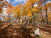 Cutter Cemetery, Jaffery NH - I seldom do wide shots in cemeteries, but this one, bathed in golden light, was too beautiful to pass up.