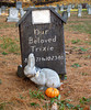 Trixie the bunny.<br /> Pet Cemetery, Methuen MA<br /> November 2005