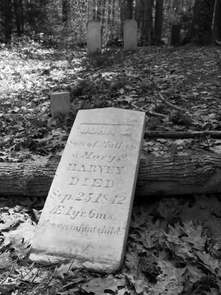 Not sure if John S was the infant child or if there was another.  Sad either way.  Tiny, unnamed cemetery in Deerfield NH.
