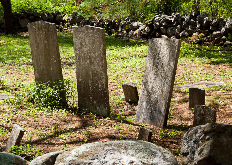Ordione Point Cemetery - could be NH's oldest, dating from the early 1600s. Many stones are rough and uncut.  It's a beautiful location.  These are Ordione family graves as are all of them in this cemetery...at least that's common wisdom.