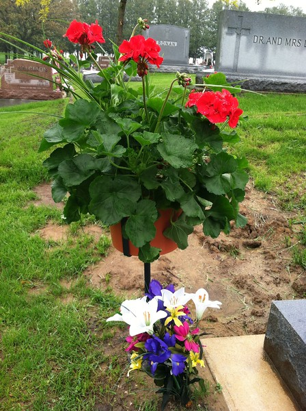 Gravesite in Decorah