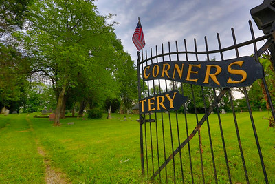 RENOLYDS CORNERS CEMETARY - 6-11-15  - NEAR BROOKLYN, MI