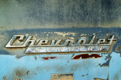 Chevrolet Spartan badge